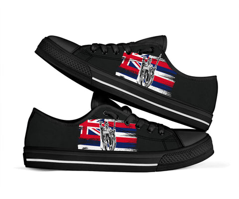Image of Hawaii King Flag Low Top Shoe