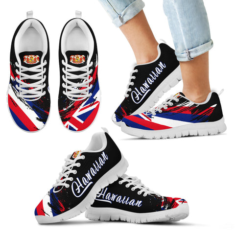 Image of Hawaii Flag Sneakers Tradition - Art Style - AH - J1 - Alohawaii