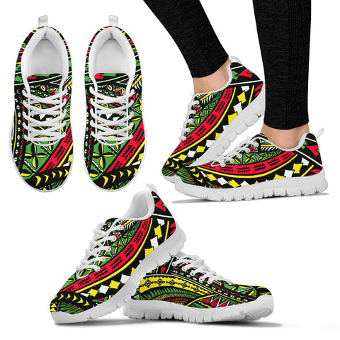 Hawaii Poly Tribal Sneakers - AH - Alohawaii