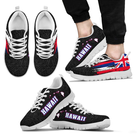Image of Hawaii Flag Polynesian Sneakers - AH J2 - Alohawaii