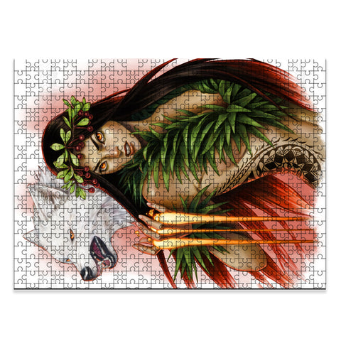 Hawaii Goddess Pele's Wrath Jigsaw Puzzle - AH - J5 - Alohawaii