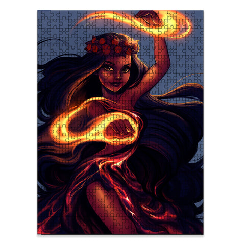 Image of Hawaii Volcano Goddess Pele Jigsaw Puzzle - AH - J5 - Alohawaii