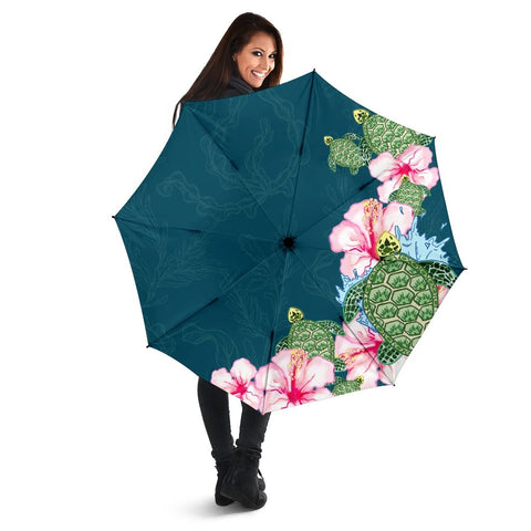 Hibiscus Turtle Dance Umbrella - AH - J1 - Alohawaii