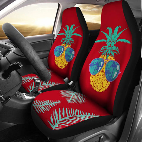 Pineapple Car Seat Covers 02 - AH - Alohawaii