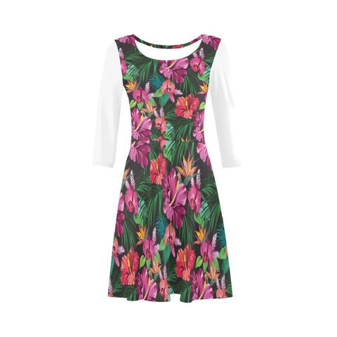 Image of Hibiscus Jung Sleeve Sundress - AH