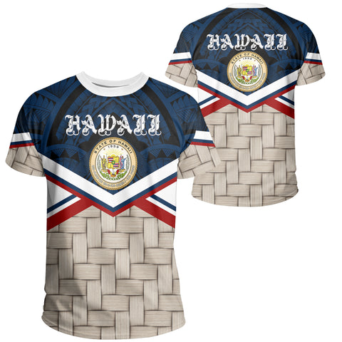 Hawaii Lauhala Coat Of Arms T-shirt