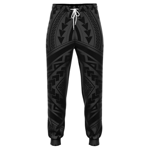Polynesian Tradition Gray Joggers