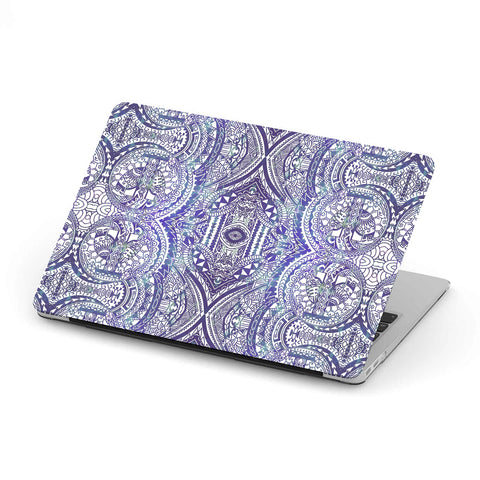 Image of Polynesian MacBook Case Violet - AH - J1 - Alohawaii