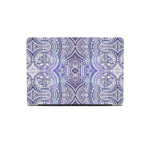 Polynesian MacBook Case Violet - AH - J1 - Alohawaii