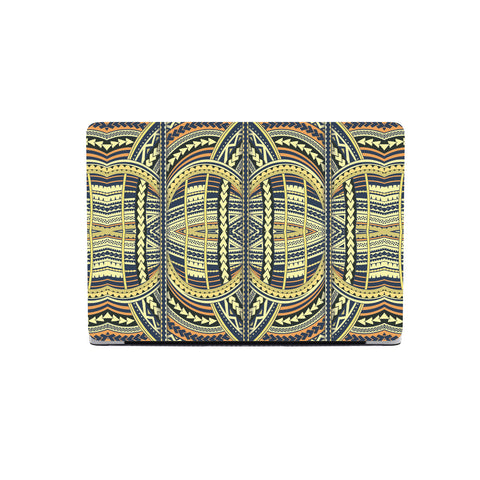 Polynesian MacBook Case Yellow - AH - J1 - Alohawaii