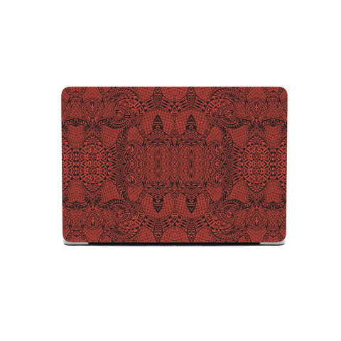 Polynesian MacBook Case Red - AH - J1 - Alohawaii