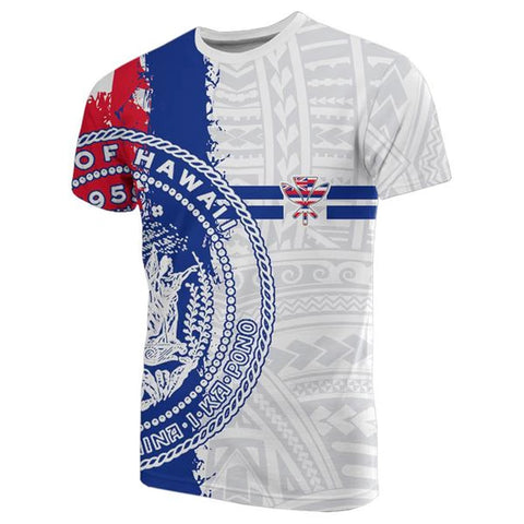 Hawaii Flag T-shirt - Mystic Style - AH J4 - Alohawaii