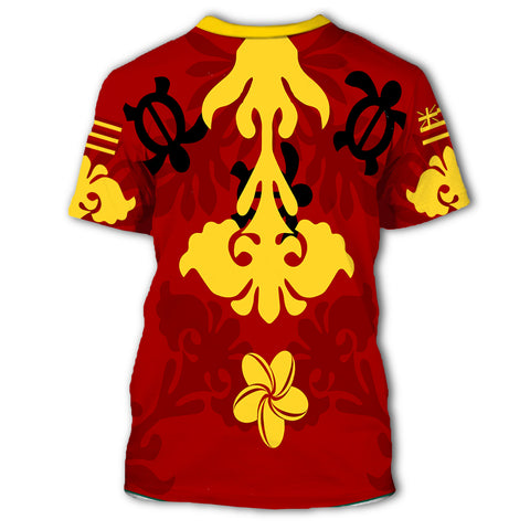 Image of Alohawaii - Hawaiian Quilt Style T-Shirt AH J0