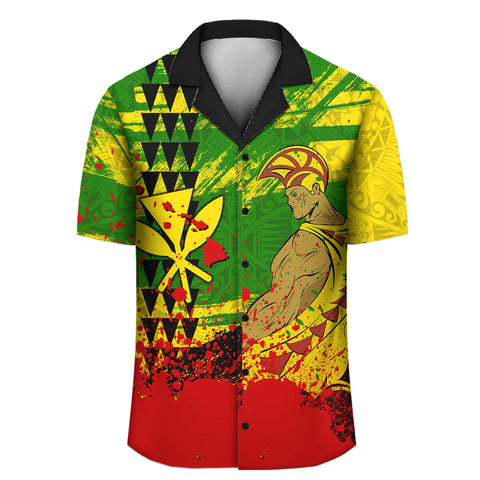 Warrior Hawaiian Shirt