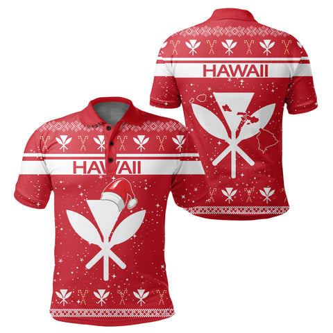 Hawaii Christmas Polo Shirt - Show Style - AH - J4