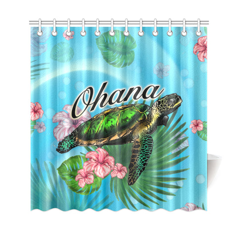 Hawaiian Shower Curtain