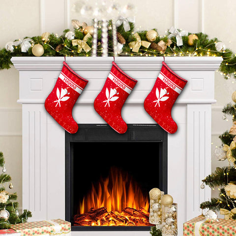 Hawaii Christmas Stocking - Show Style - AH - J4