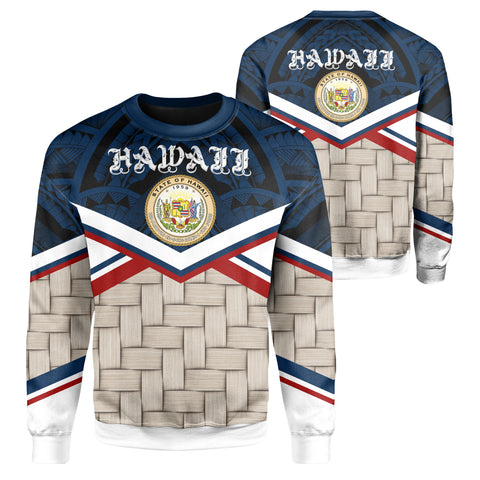 Hawaii Lauhala Coat Of Arms Sweatshirt