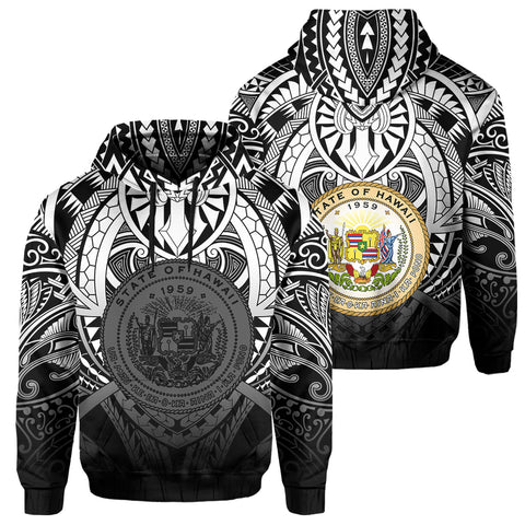 Hawaii Maka Polynesian Coat Of Arms Hoodie