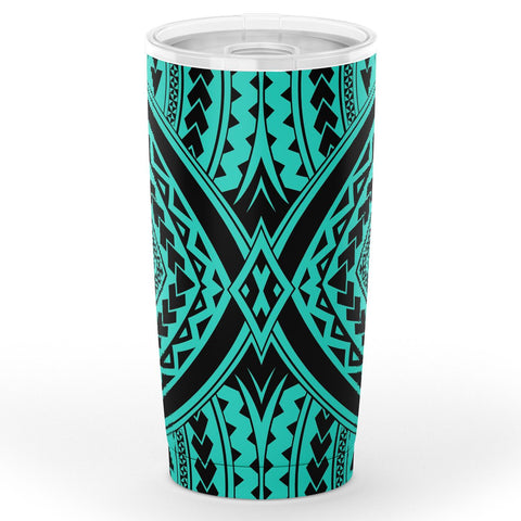 Image of Hawaii Polynesian Tradition Turquoise Tumbler