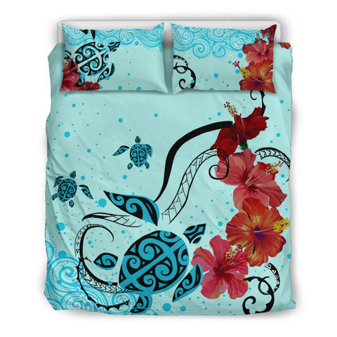 Image of Hawaii Sea Turtle Bedding Set - AH