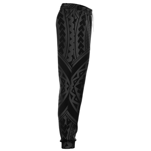 Image of Polynesian Tradition Gray Joggers - AH - J1