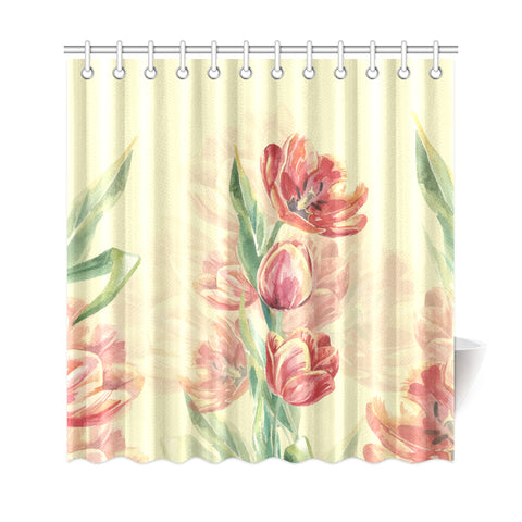 Tulip Shower Curtain - AH - J4 - Alohawaii