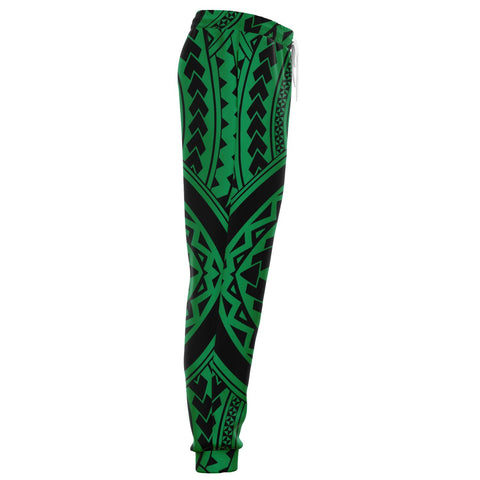Image of Polynesian Tradition Green Joggers - AH - J1