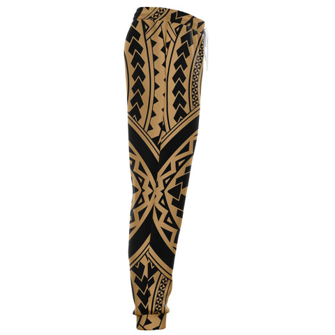 Polynesian Tradition Gold Joggers - AH - J1