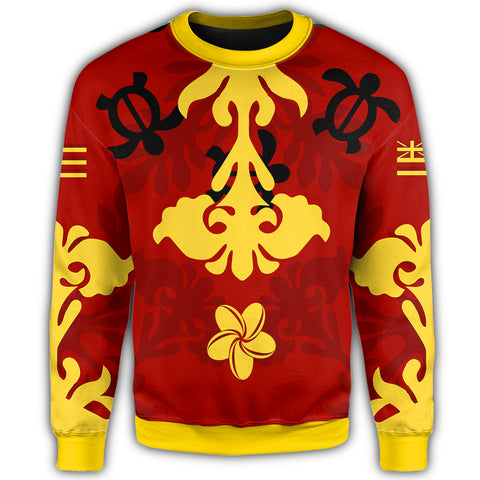 Image of Alohawaii - Hawaiian Quilt Style Sweatshirt