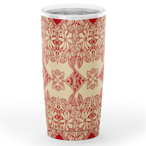 Image of Hawaii Polynesian Plumeria Mix Tumbler - AH - J6 - Alohawaii