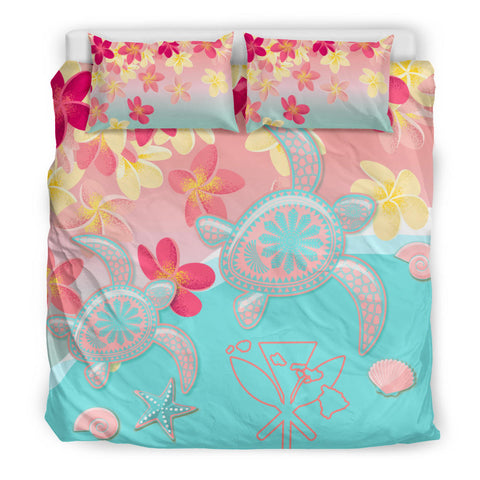 Hawaiian Bedding Set