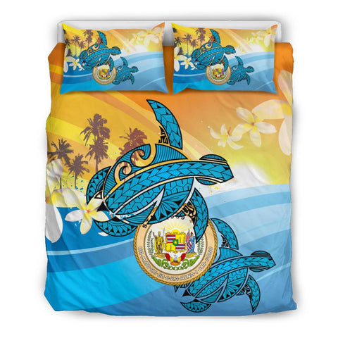 Hawaii Turtle Sea Cost Of Arm Bedding Set