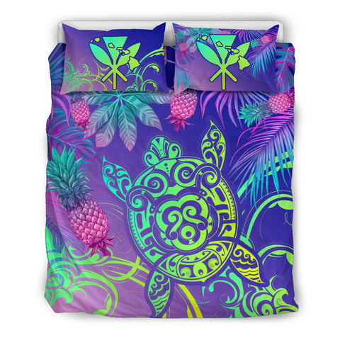 Hawaii Turtle Tropical Kanaka Maoli Bedding Set