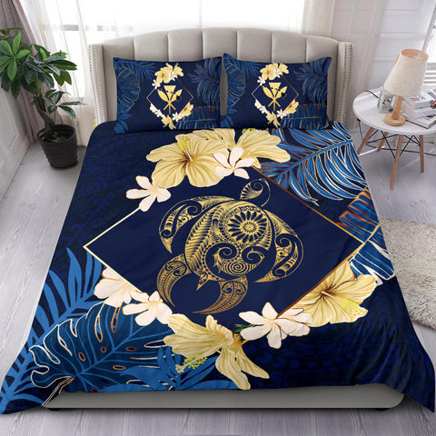 Alohawaii Bedding Set - Hawaii Turtle Tropical Bedding Set - Taha Style - AH - J4