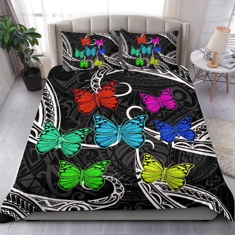 Hawaii Polynesian Butterflies Bedding Set - AH - J5