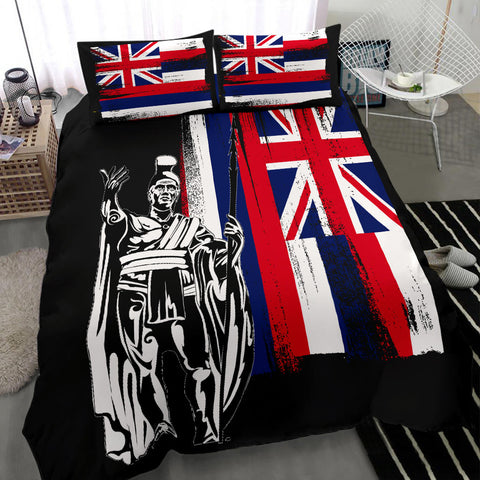 Alohawaii Bedding Set - Hawaii King Flag Bedding Set - AH J4 - Alohawaii
