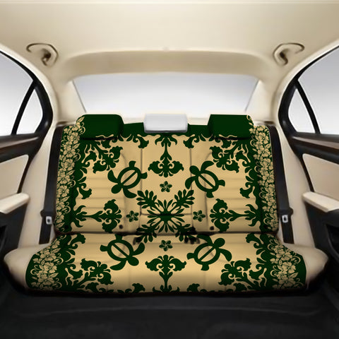 Alohawaii Back Car Seat Covers - Hawaiian Quilt Turtle Dance Sea Pattern - AH J8 - Alohawaii