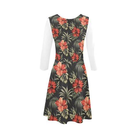 Hawaiian Hibiscus Sundress