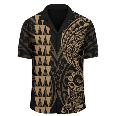 Image of Kakau Polynesian Tribal Hawaiian Shirt - AH - J6 - Alohawaii