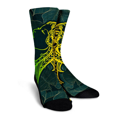 Hawaiian Crew Socks
