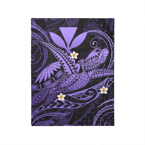 Image of Hawaii Turtle Polynesian Comforter - Nane Style Purple - AH - J4C