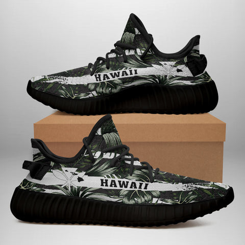 Hawaiian Sneakers YZ Tropical Line Patttern - Alohawaii