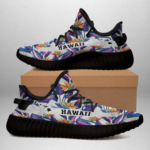 Hawaiian Sneakers YZ Tropical Strelitzia - Alohawaii