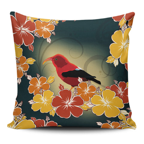 Honeycreeper Hibiscus Pillow Covers - AH - J1