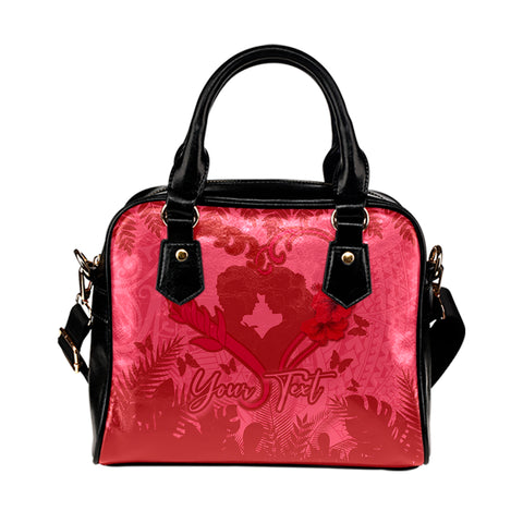 (Personalized) Hawaiian Lover Valentine's Day Shoulder Handbag | Alohawaii.co