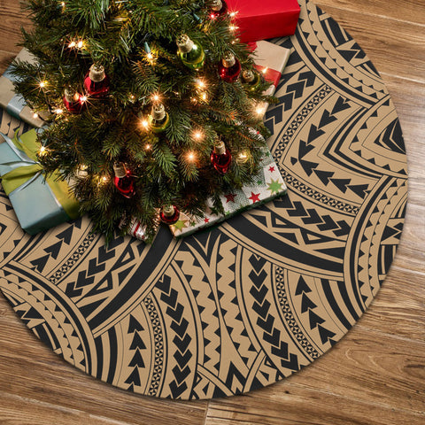 Polynesian Tradition Gold Tree Skirt