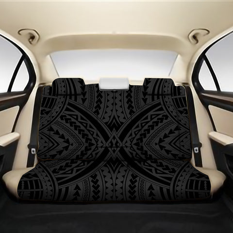 Image of Polynesian Tradition Gray Back Seat Cover - AH - J4 - Alohawaii