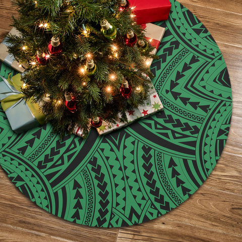 Polynesian Tradition Green Tree Skirt
