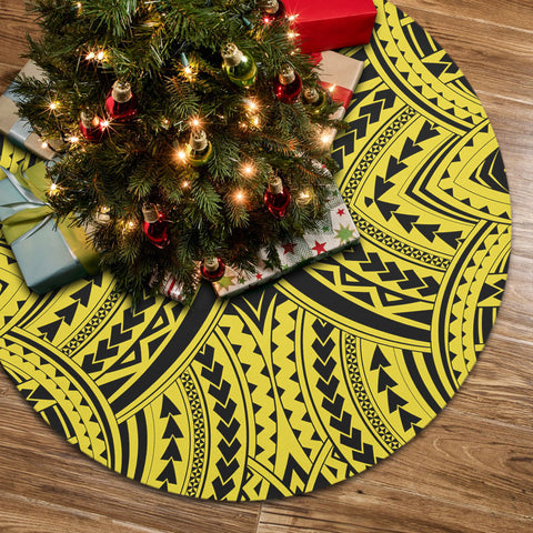 Polynesian Tradition Yellow Tree Skirt
